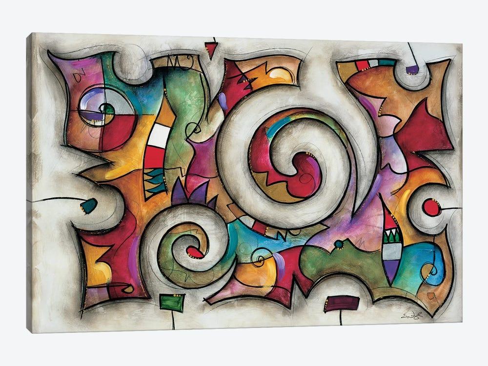 Quadra by Eric Waugh 1-piece Canvas Print