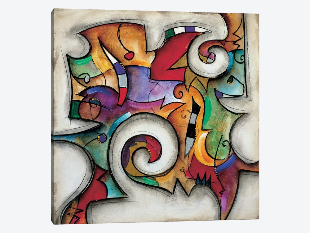 Swirl I by Eric Waugh 1-piece Canvas Print