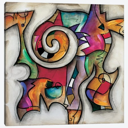 Swirl II Canvas Print #WAU25} by Eric Waugh Canvas Art