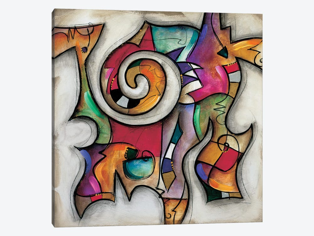 Swirl II by Eric Waugh 1-piece Canvas Artwork