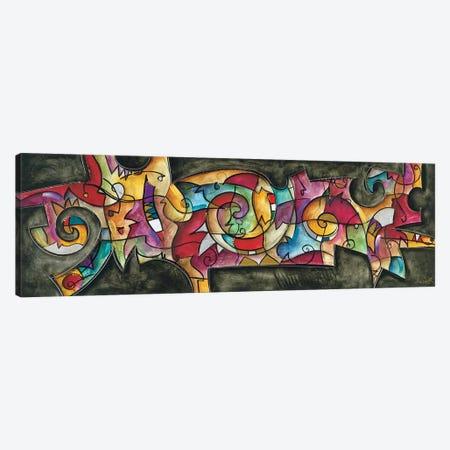 All Night Long Canvas Print #WAU2} by Eric Waugh Canvas Artwork