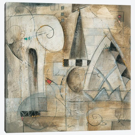 Classica I 3-Piece Canvas #WAU5} by Eric Waugh Art Print