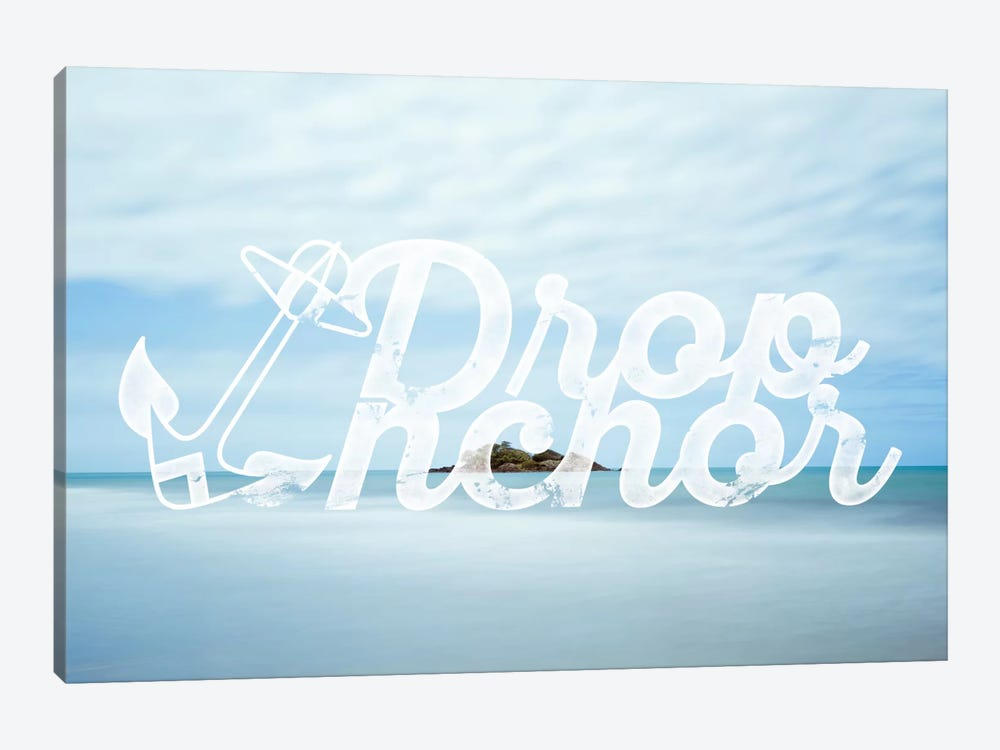 Drop Anchor by 5by5collective 1-piece Canvas Wall Art