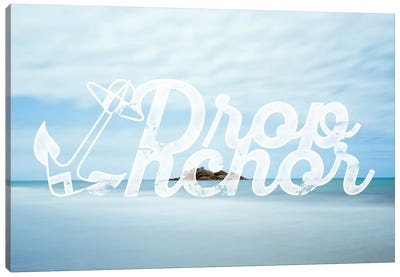 Drop Anchor Canvas Art Print