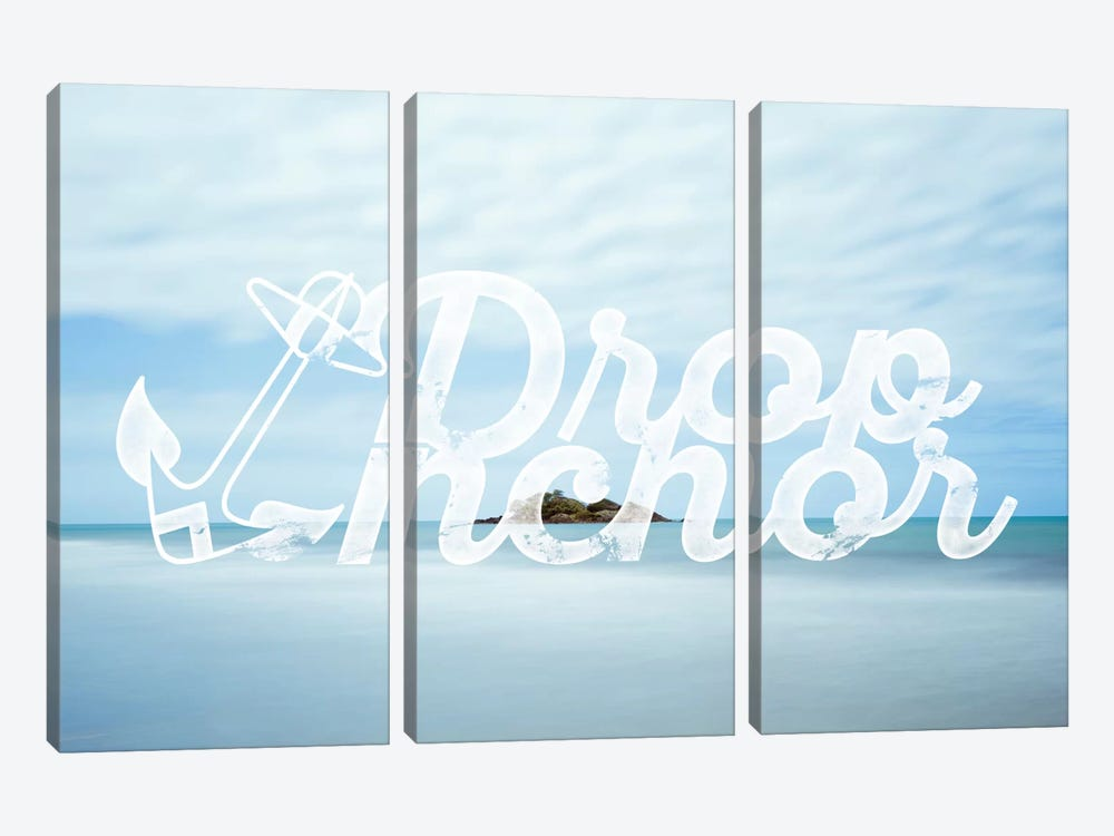 Drop Anchor by 5by5collective 3-piece Canvas Wall Art