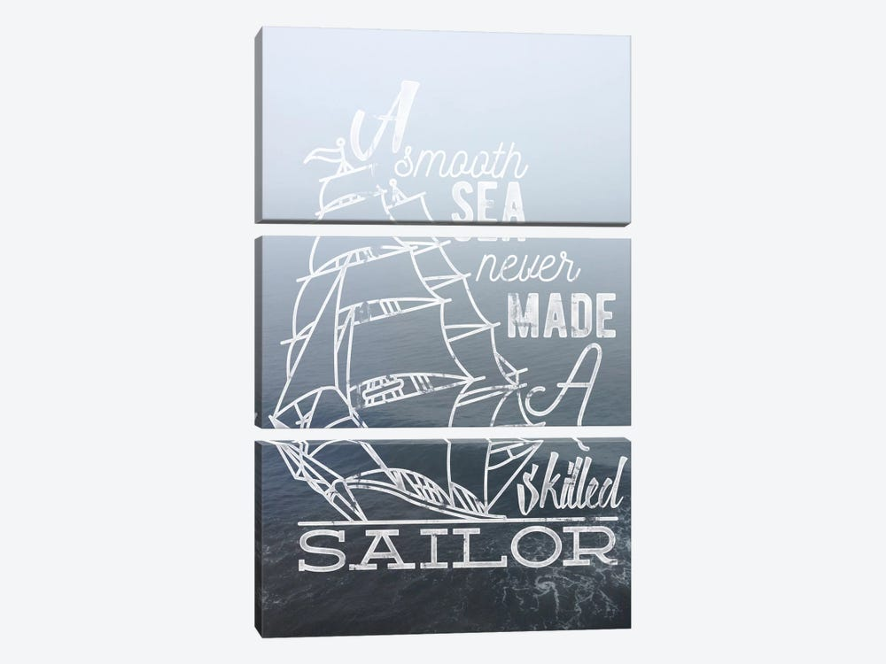 Sailor by 5by5collective 3-piece Canvas Art Print