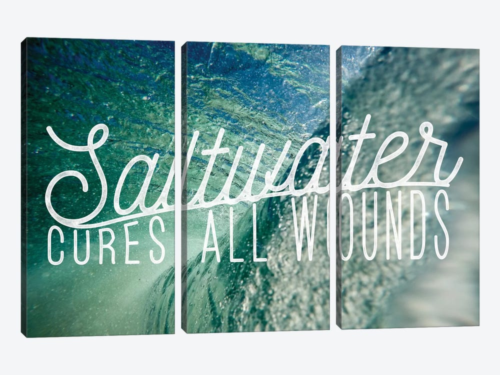 Saltwater by 5by5collective 3-piece Canvas Wall Art
