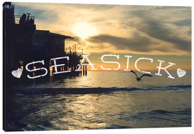 Seasick Canvas Art Print