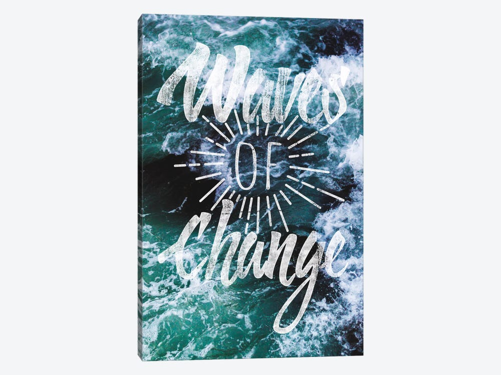 Waves of Change by 5by5collective 1-piece Canvas Art