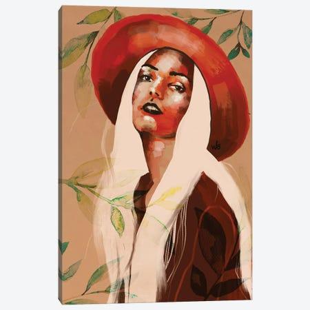 Hat II Canvas Print #WBB42} by Whitney Blackburn Canvas Artwork
