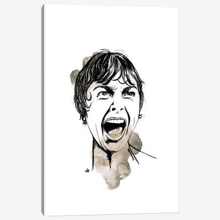 Psycho Canvas Print #WBB8} by Whitney Blackburn Art Print