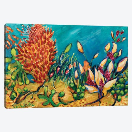 Under The Sea Canvas Print #WBC24} by Wendy Bache Canvas Art