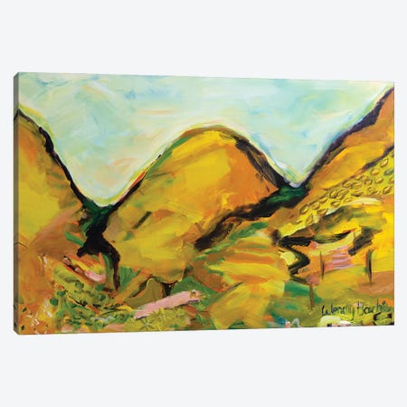 Mountain Harmony Canvas Print #WBC26} by Wendy Bache Canvas Art