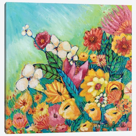 Daylight Bloom Canvas Print #WBC28} by Wendy Bache Art Print