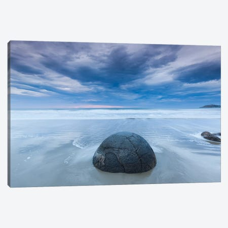 New Zealand, South Island, Otago, Moeraki, Moeraki Boulders, dawn II Canvas Print #WBI102} by Walter Bibikow Canvas Art Print
