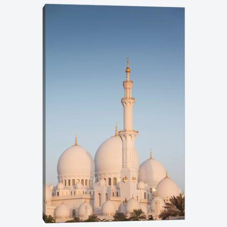 UAE, Abu Dhabi. Sheikh Zayed bin Sultan Mosque I Canvas Print #WBI107} by Walter Bibikow Canvas Art