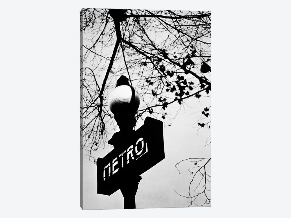 Paris Metro Sign, Paris, Ile-de-France, France 1-piece Art Print
