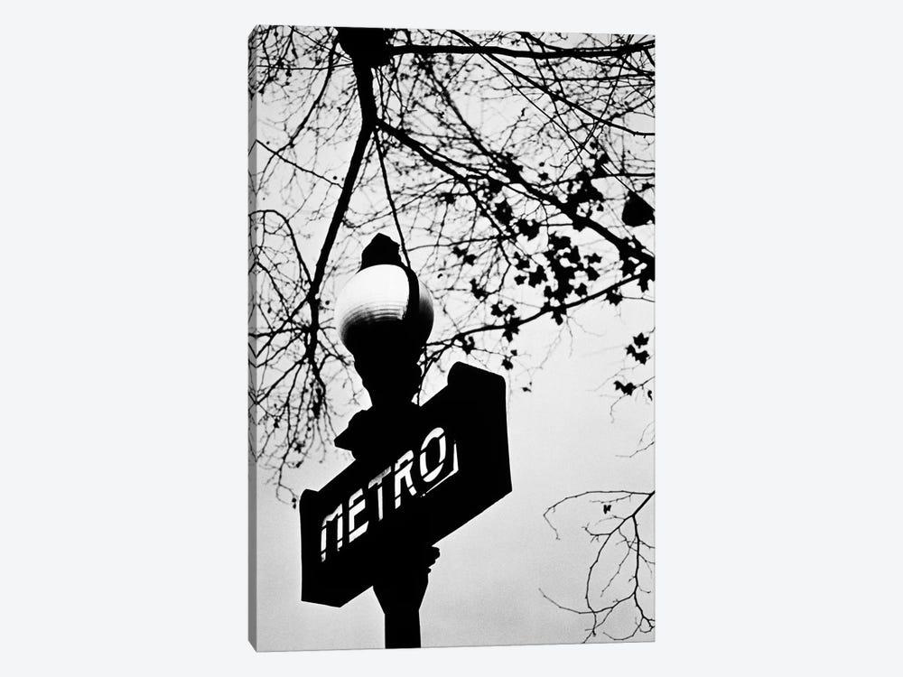 Paris Metro Sign, Paris, Ile-de-France, France by Walter Bibikow 1-piece Art Print