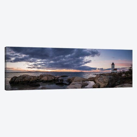 USA, Massachusetts, Cape Ann, Gloucester, Annisquam Lighthouse Canvas Print #WBI114} by Walter Bibikow Canvas Print