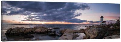 USA, Massachusetts, Cape Ann, Gloucester, Annisquam Lighthouse Canvas Art Print