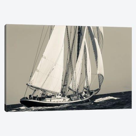 USA, Massachusetts, Cape Ann, Gloucester, schooner sailing ships I Canvas Print #WBI117} by Walter Bibikow Art Print