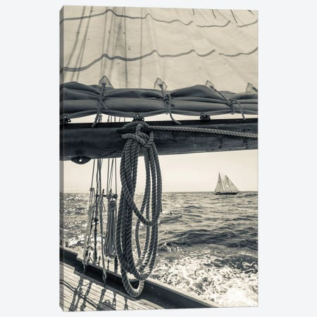 USA, Massachusetts, Cape Ann, Gloucester, schooner sailing ships II Canvas Print #WBI118} by Walter Bibikow Canvas Art