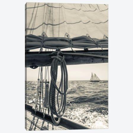 USA, Massachusetts, Cape Ann, Gloucester, schooner sailing ships II Canvas Print #WBI118} by Walter Bibikow Canvas Art