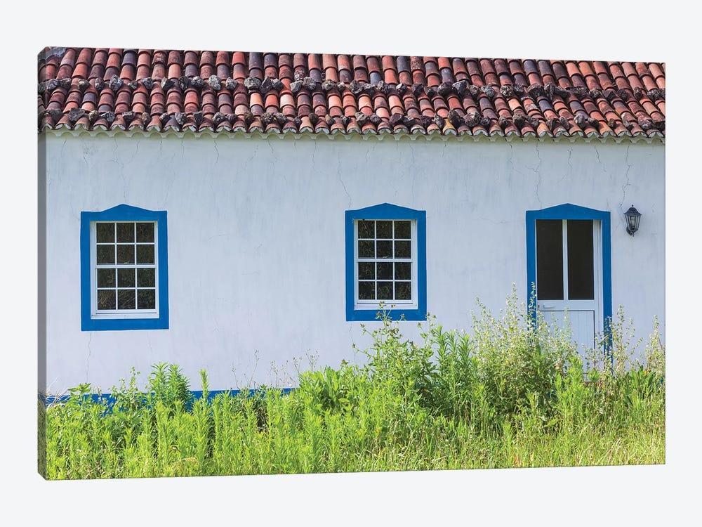Portugal, Azores, Santa Maria Island, Norte. Farmhouse by Walter Bibikow 1-piece Canvas Artwork