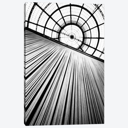 Central Dome, Galleria Vittorio Emanuele II, Milan, Lombardy Region, Italy Canvas Print #WBI15} by Walter Bibikow Art Print