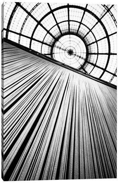 Central Dome, Galleria Vittorio Emanuele II, Milan, Lombardy Region, Italy Canvas Art Print