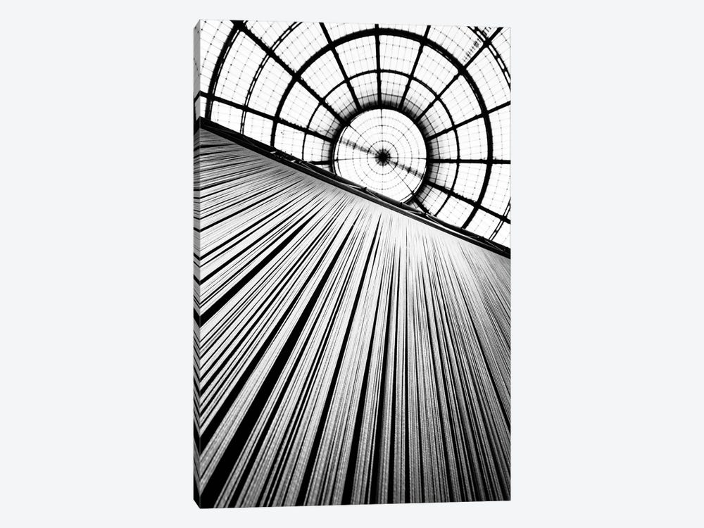 Central Dome, Galleria Vittorio Emanuele II, Milan, Lombardy Region, Italy 1-piece Canvas Artwork