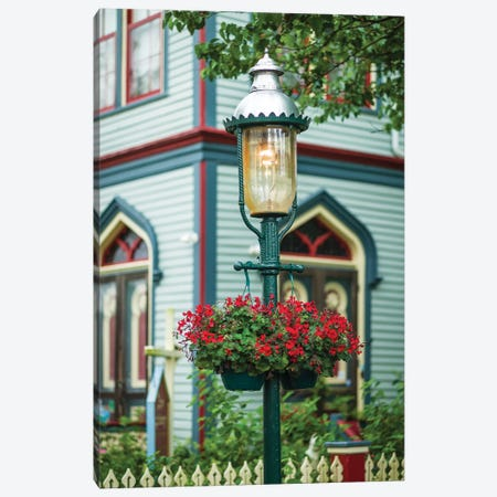 USA, New Jersey, Cape May. Victorian house detail. Canvas Print #WBI164} by Walter Bibikow Canvas Wall Art