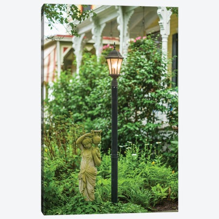 USA, New Jersey, Cape May. Victorian house detail. Canvas Print #WBI165} by Walter Bibikow Canvas Wall Art