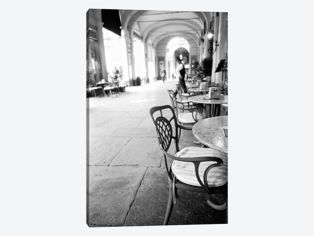 Outdoor Café, Turin, Piedmont Region, Italy 1-piece Canvas Art