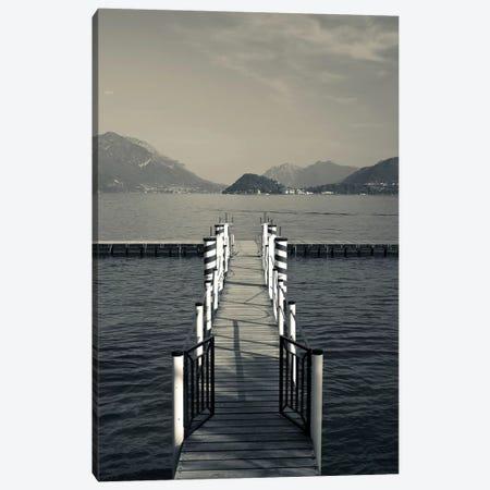 Bellagio As Seen From Menaggio, Lake Como, Lombardy Region, Italy Canvas Print #WBI19} by Walter Bibikow Canvas Wall Art