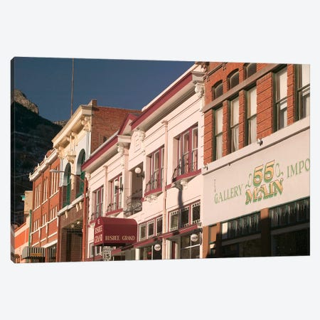 Main Street Architecture, Bisbee, Arizona, USA Canvas Print #WBI27} by Walter Bibikow Canvas Art