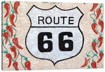 U.S. Route 66 Mural, Holbrook, Arizona, USA Canvas Print #WBI28