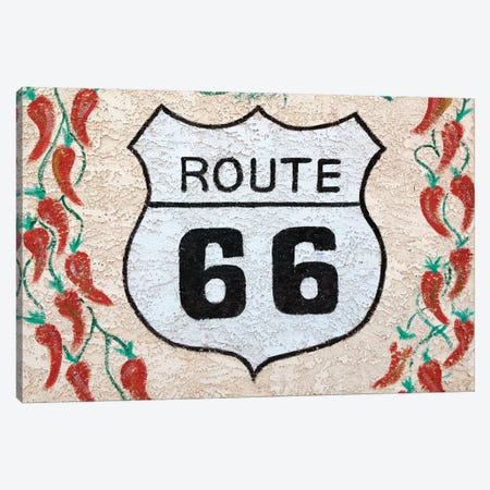 U.S. Route 66 Mural, Holbrook, Arizona, USA Canvas Print #WBI28} by Walter Bibikow Canvas Art Print