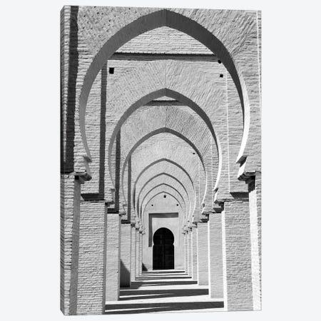 Outdoor Walkway, Tinmel Mosque, Tinmel, Al Haouz Province, Marrakesh-Safi, Morocco Canvas Print #WBI2} by Walter Bibikow Canvas Wall Art