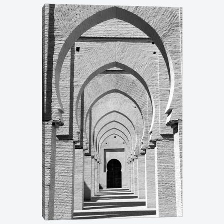 Outdoor Walkway, Tinmel Mosque, Tinmel, Al Haouz Province, Marrakesh-Safi, Morocco 3-Piece Canvas #WBI2} by Walter Bibikow Canvas Wall Art