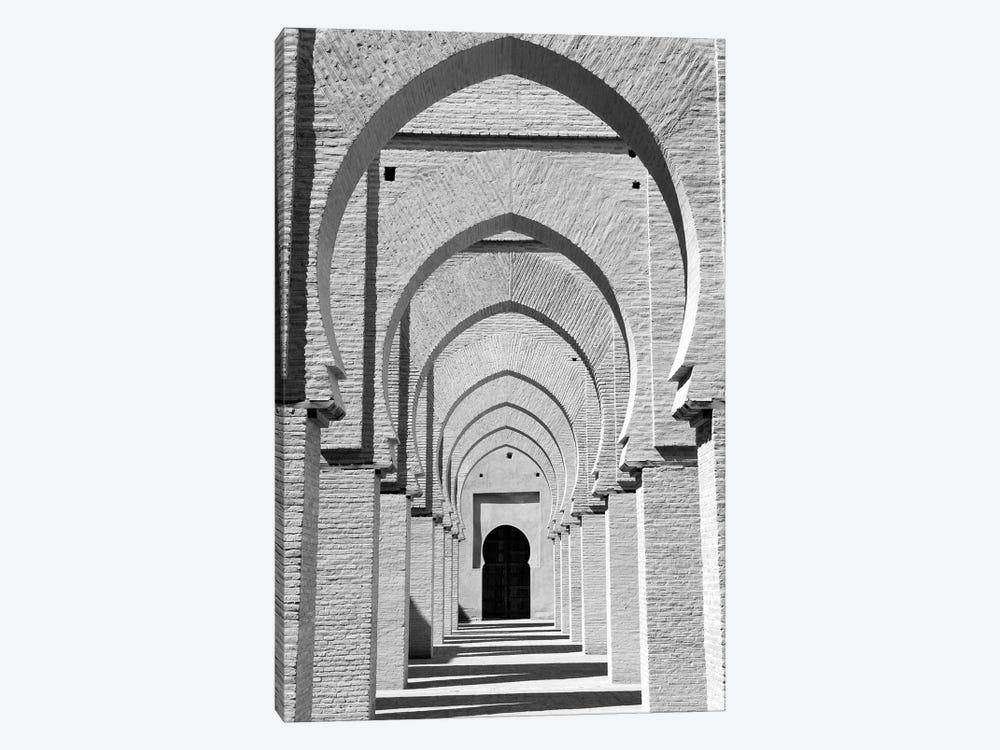 Outdoor Walkway, Tinmel Mosque, Tinmel, Al Haouz Province, Marrakesh-Safi, Morocco by Walter Bibikow 1-piece Canvas Art Print