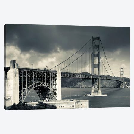 Golden Gate Bridge, San Francisco, California, USA Canvas Print #WBI39} by Walter Bibikow Canvas Wall Art