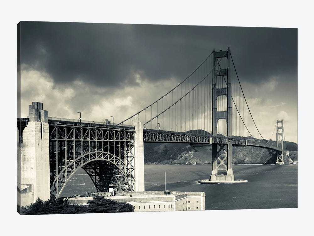 Golden Gate Bridge, San Francisco, California, USA by Walter Bibikow 1-piece Canvas Art