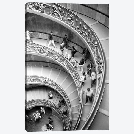 "Modern ""Bramante"" Staircase, Museo Pio-Clementine, Vatican City Canvas Print #WBI45} by Walter Bibikow Canvas Art"