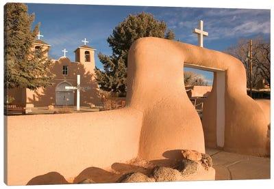 San Francisco de Asis Mission Church, Ranchos de Taos, New Mexico, USA Canvas Print #WBI62