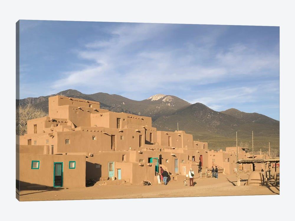 Taos Pueblo (Pueblo de Taos), Taos County, New Mexico, USA by Walter Bibikow 1-piece Art Print