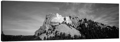 Distant View, Mount Rushmore National Memorial, Pennington County, South Dakota, USA Canvas Print #WBI74