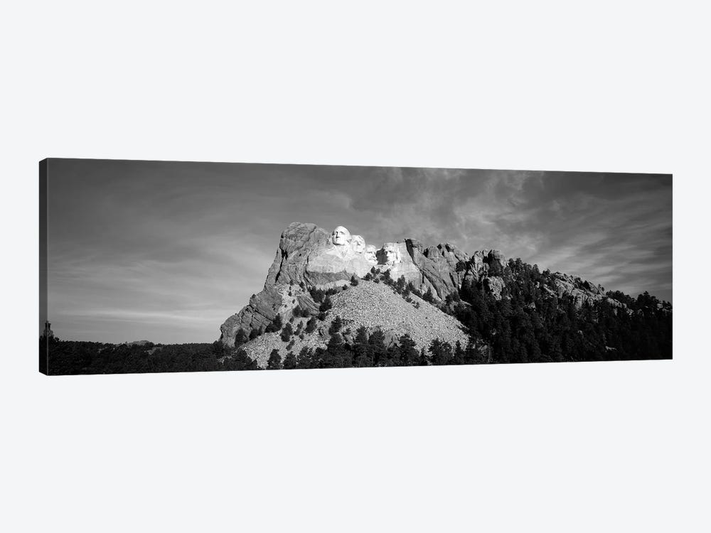 Distant View, Mount Rushmore National Memorial, Pennington County, South Dakota, USA by Walter Bibikow 1-piece Canvas Print
