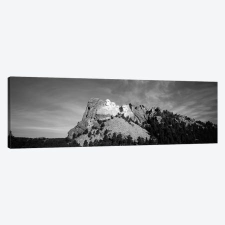 Distant View, Mount Rushmore National Memorial, Pennington County, South Dakota, USA Canvas Print #WBI74} by Walter Bibikow Art Print