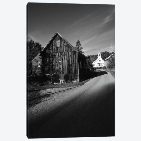 Rural Landscape In B&W, Northeast Kingdom, Vermont, USA Canvas Print #WBI79} by Walter Bibikow Canvas Artwork